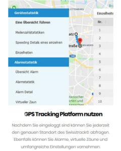 GPS App Fahrrad Tracking