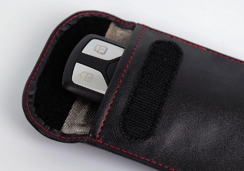 Kunstleder-Tasche für Keyless Go Schlüssel
